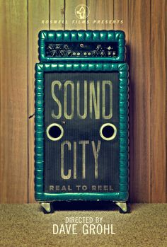 awesome poster for the documentary 'Sound City'