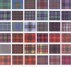 Tartan ~ I'm thinking plaid rug in the boys room? Irish Tartan, Tartan Kilt, London Underground, Fabric Patterns, Print Patterns, Camo Patterns, Scottish Tartans, Harris Tweed, Textiles