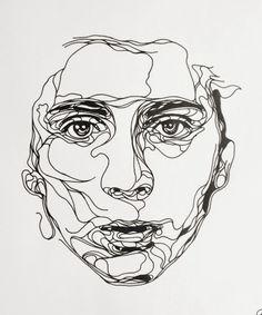 Kris Trappeniers, portraits découpés