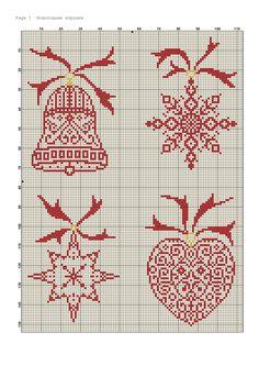 Новогодние игрушки. Монохром Cross Stitch Owl, Cross Stitch Designs, Cross Stitching, Cross Stitch Embroidery, Cross Stitch Patterns, Cross Stitch Christmas Ornaments, Christmas Embroidery, Christmas Cross, Blackwork Patterns