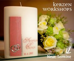 Design your Candle Workshop, Pillar Candles, Design, Getting Married, Atelier, Work Shop Garage, Candles