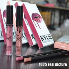 HOT NEW KYLIE JENNER LIP KIT LIPSTICK AND LINER MATTE - BRAND NEW 2pcs Set #NEW