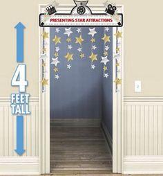 Hollywood Stars Doorway Curtain