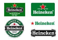 Famous Logo Design History: Heineken   Logo Design Gallery Inspiration   LogoMix