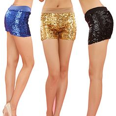 Performance Dancewear Polyester with Sequins Jazz Dance Bottom For Women(More Colors) – EUR € 24.74