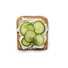 Cucumber sandwich ❤ liked on Polyvore featuring food, fillers, food and drink, food & drink and comida