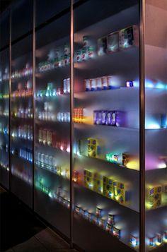 Translucent Store Filled With 2,000 Illuminated Lanterns