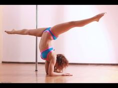 Hardcore Abs Workout For Pole Fitness (No Pole Needed!) [Top.me] - YouTube