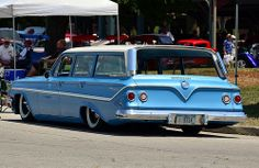 1961 Chevy Parkwood station wagon