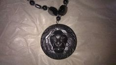 Island Necklace, Lion Head, New & Untagged #LionsHead #Charm