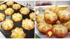Syrové rožteky z formy na muffiny: Keď položíte na stôl toto jemné pečivo, všetci na ňom budú môcť oči nechať! Ham, Shrimp, Muffin, Breakfast, Food, Cakes, Morning Coffee, Scan Bran Cake, Kuchen