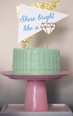 Learn how to create a tiered cake stand that will make your party treats shine!