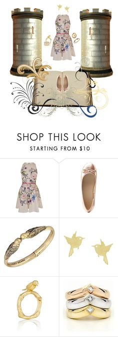 """""""Straight out of the Story Books"""" by malecsizzyclace ❤ liked on Polyvore featuring Ted Baker, Charlotte Russe, Lucky Brand, White Leaf, Mimi So, Cartier and Hop Skip & Flutter"""