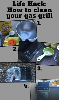 Tried to clean gas grill grates with no luck? I found the answer: Arm & Hammer Super Washing Soda does the trick! Come see how I tackled it.