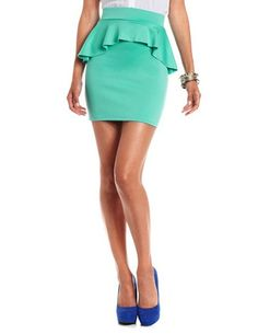 yeah yeah summer is over, but this peplum skirt is so cute! $16.99