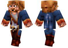 Pirate Skin A general pirate Minecraft skin.