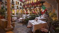 The Spanish Patio at The Mission Inn – Riverside   16 California Restaurants Every Foodie Should Try