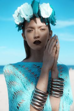 Beachside Bohemian Editorials - The Kasia Design Scene Exclusive is Ethereal and Serene (GALLERY)