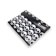 Funda de lona Nooem calavera negra para iPad 2/3 en Los Panda | lospanda.com