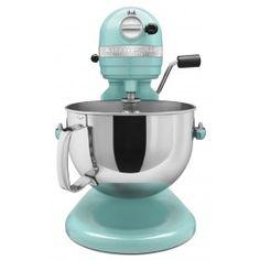 KitchenAid 6Qt Pro600 Mixer+Up To $70 Rebate Aqua Sky