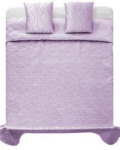 Luxusny satenovy svetlo fialovy prehoz na postel