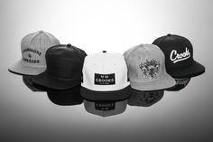 e7e93cd31b0 New Crooks  amp  Castles snapbacks