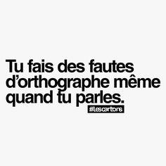 Pour tous ceux qui bafouillent la langue française