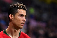 Cristiano Ronaldo Photos - Cristiano Ronaldo of Portugal looks on during the International Friendly match between Portugal v Netherlands at Stade de Geneve on March 26, 2018 in Geneva, Switzerland. - Portugal Vs. Netherlands - International Friendly