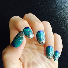 Taurus colors are green blue and pink. I wanted to create a nail look that incorporated all those colors while still. Mermaid Nails, Son Luna, Beauty Shots, Nail Decorations, Us Nails, Gel Manicure, Nail Polish Colors, Nail Artist, Pink Glitter