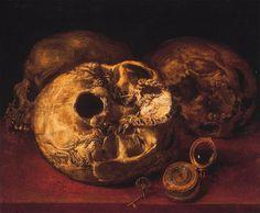 Antonio Pereda. Vanitas (1635, Museo de Bellas Artes de Zaragoza)