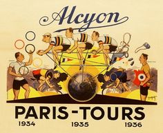 Alcyon Paris Tours