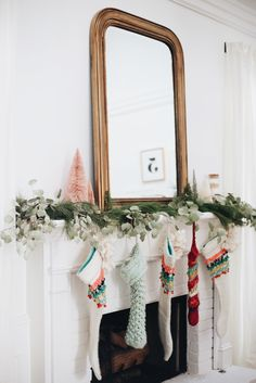 The Stockings are Hung // Holiday Home Tour