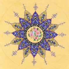 Persian art - Traditional Iranian patern tile