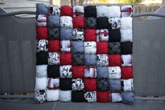 Bolla a tema Star Wars trapunta / Puff Quilt / di CandyUnraveled
