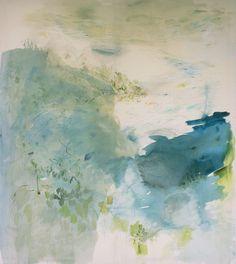 "Paula Baader; Acrylic, 2013, Painting ""Bay of Formentor"""