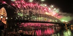 Harbour Party - New Years Eve - NYE 2013 Sydney - Luna Park Sydney. Emily thats our view!