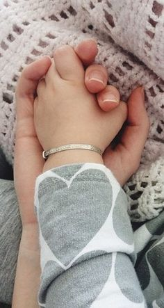 Mom & daughter holding hands.......love it