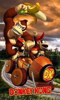 Donkey Kong, Nintendo, 5 S, Bowser, Videogames, Printables, Wallpaper, Phone, 7 Year Olds