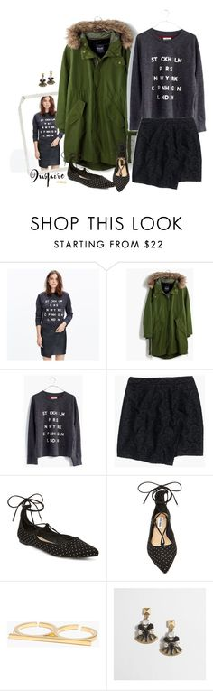 """""""Lace"""" by villasba on Polyvore featuring Madewell, Tag, Steve Madden, J.Crew, women's clothing, women, female, woman, misses and juniors"""