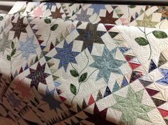 Love the pattern and the quilting.