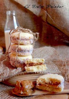 El dulce paladar: Cómo hacer huesitos de dulce de leche,con videoreceta