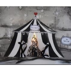 The signature black and white tents of the night circus. #nightcircus