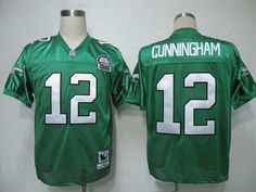 60bc55149 Philadelphia Eagles Randall Cunningham green jersey 48 XL sz  fashion   clothing  shoes  accessories  mensclothing  othermensclothing (ebay link)