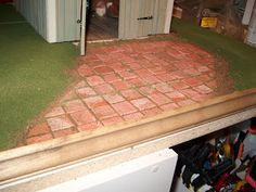 Miniature paving tile tutorial