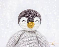Penguin Buddy Crochet Pattern - Briana K Designs Crochet Patterns Amigurumi, Crochet Toys, Knitting Patterns, Crochet Animals, Amigurumi Toys, Lace Knitting, Crochet Crafts, Crochet Ideas, Crochet Stitches
