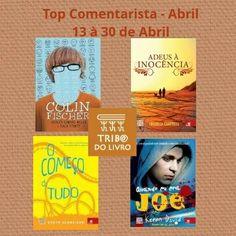 Participe do Top comentarista de abril e concorra a 4 sucessos Novo Conceito.