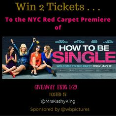 HOW TO BE SINGLE giveaway 2