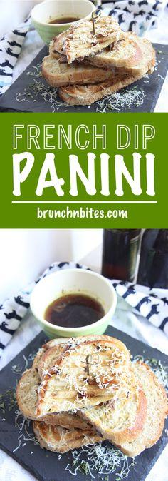 French Dip Panini |