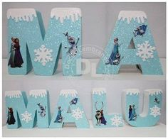 passo a passo de fazer um bolo simples da frozen - Pesquisa Google Frozen Birthday Theme, Frozen Themed Birthday Party, 3rd Birthday Parties, Frozen Princess, Elsa Frozen, Bolo Frozen, Candy Bar Frozen, Frozen Birthday Decorations, Disney Letters
