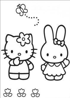 Free Printable Baby Hello Kitty Coloring Pages For Kids Picture 18 550x770